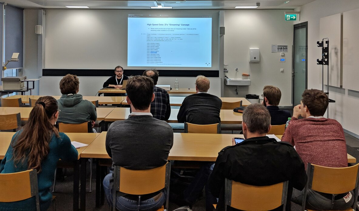 Data Acquisition with Tino Wagner, Zurich Instruments