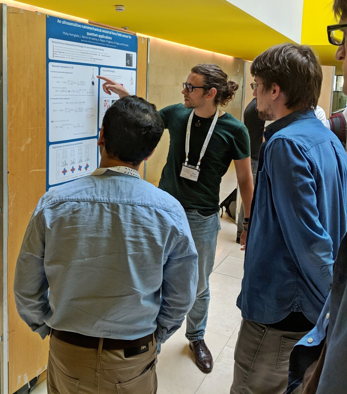 Poster session in action