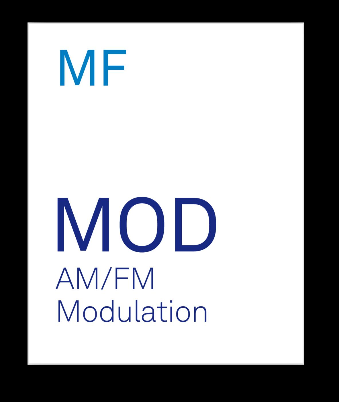 Zurich Instruments MF MOD AM/FM Modulation