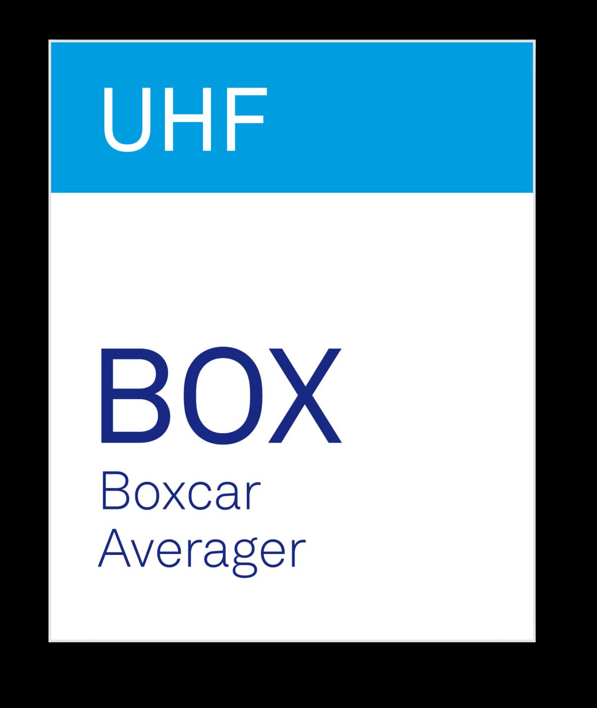 Zurich Instruments UHF-BOX Boxcar Averager