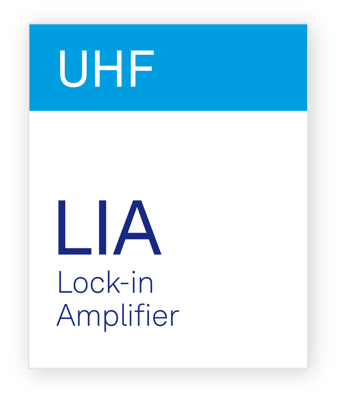 Zurich Instruments UHF LIA Lock-in Amplifier
