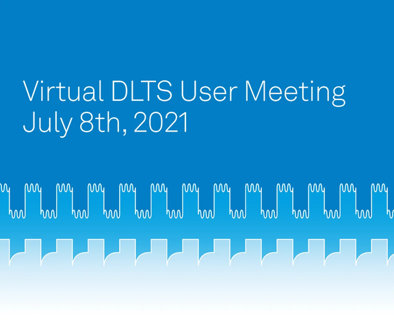DLTS User Meeting Banner