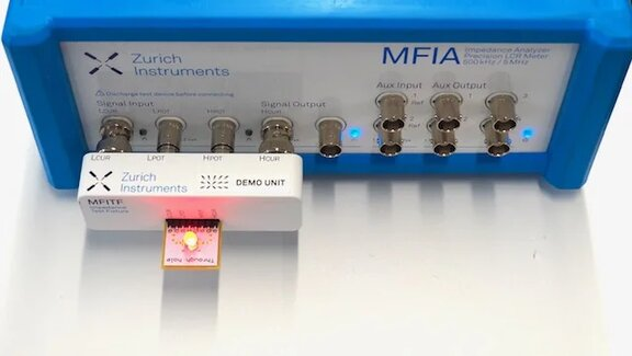 MFIA with DUT attached
