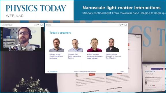 Nanoscale light-matter interaction screenshot