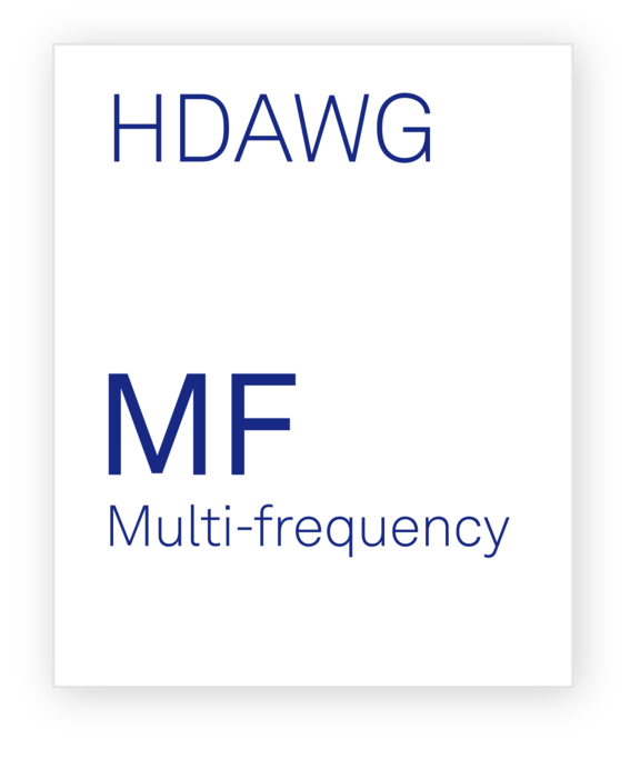 Zurich Instruments HDAWG-MF Multi-frequency