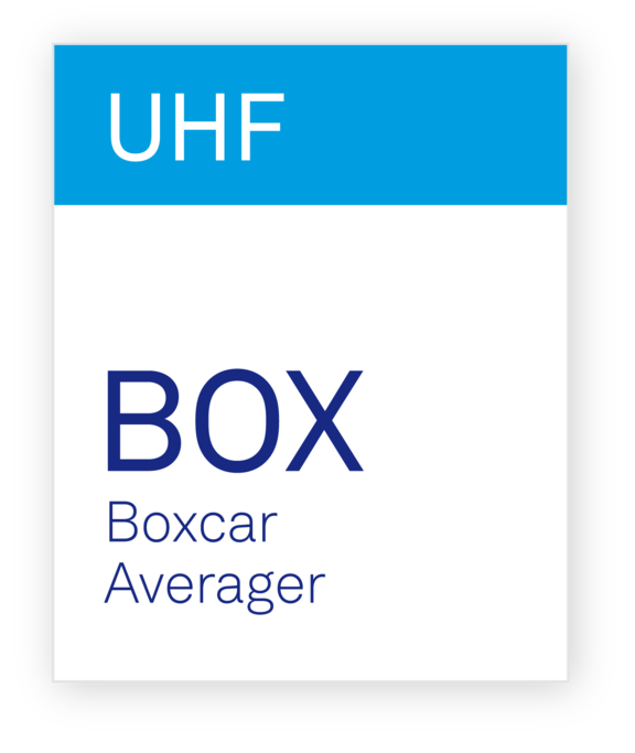 Zurich Instruments UHF-BOX Boxcar Averager