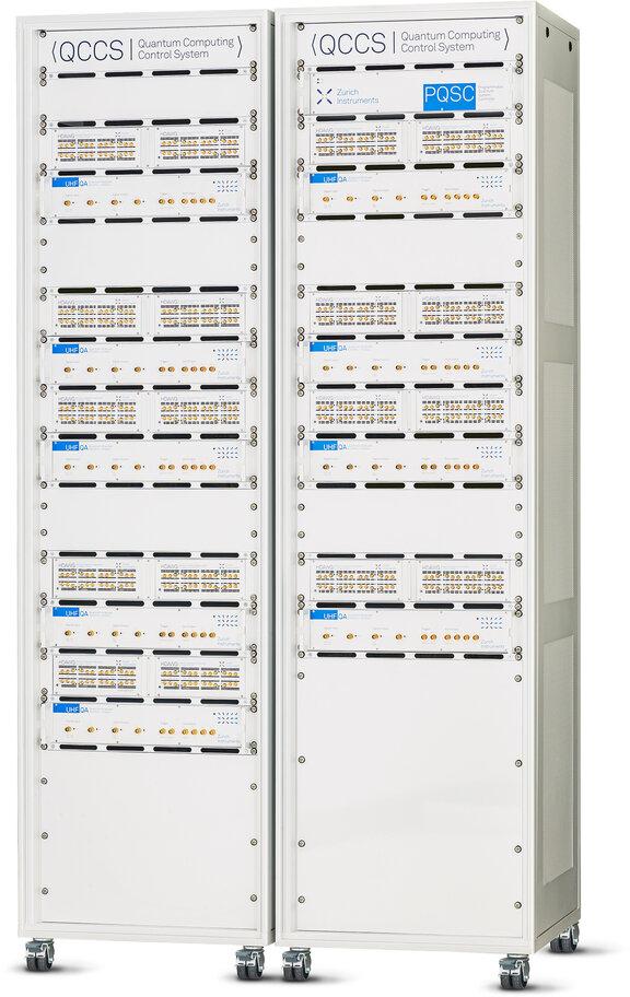Zurich Instruments QCCS Quantum Computing Control System Rack