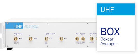 UHFLI + UHF-BOX 600 MHz Boxcar Averager