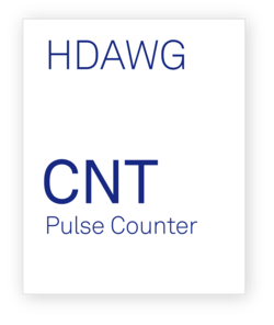 Zurich Instruments HDAWG-CNT Pulse Counter