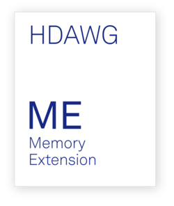 Zurich Instruments HDAWG-ME Memory Extension
