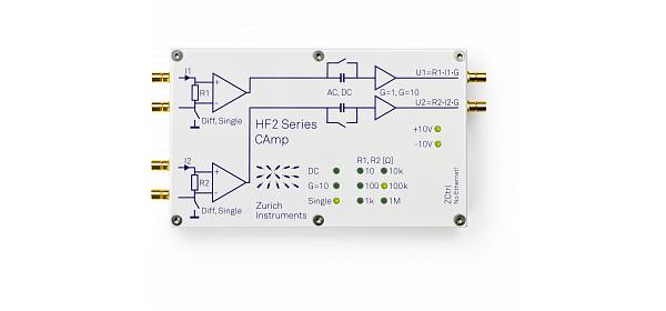 HF2CA Current Amplifier - Zurich Instruments