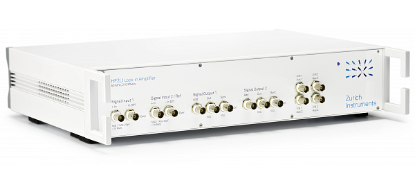 Zurich Instruments HF2LI, lock-in amplifier, high frequency lock-in amplifier, lock-in, digital lock-in amplifier, 50 MHz